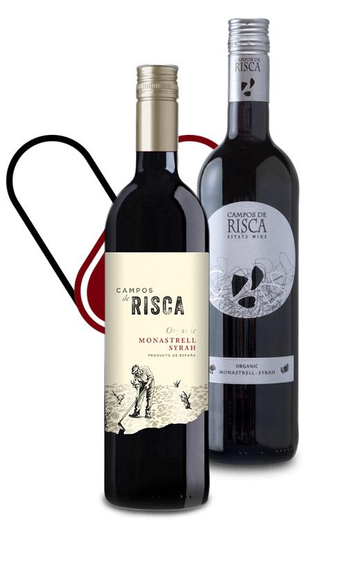 Vinergia Spanish Wines Campos de Risca Monastrell Syrah